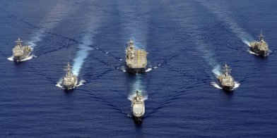 The US 7th Fleet