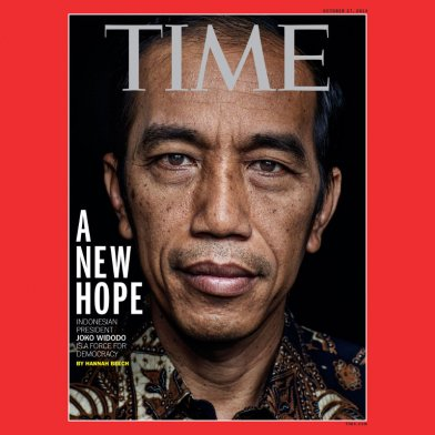 Jokowi Time Magazine